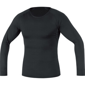 GORE RUNNING WEAR Essential Base Layer Miehet Alusvaate , musta